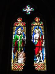 Eglise de l'Annonciation Notre-Dame - Français:   Dammarie-sur-Saulx (Meuse) église, vitrail