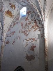 Cathédrale Notre-Dame de la Sède - Peinture murale dans la cathédrale Notre-Dame-de-la-Sède: arbre de Jessé.