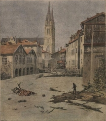 Eglise Saint-Bruno - La Catastrophe de Voiron (Isère, France).