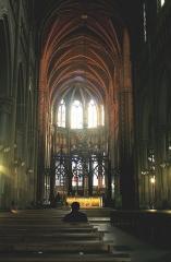 Eglise Saint-Bruno - Voiron (Isère) - Nef de Saint-Bruno.