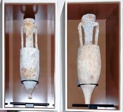 Site vinicole gallo ; romain dit Le Mollard - Amphores de la villa du Mollard