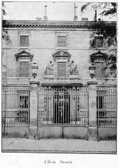 Ecole normale supérieure - Français:   Clément Maurice Paris en plein air, BUC, 1897, L\'École Normale