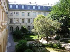 Ecole normale supérieure -  Paris (F), ENS Rue d´Ulm courtyard