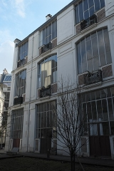 Villa des Arts - Deutsch: Villa des Arts im 18. Arrondissement in Paris (Île-de-France/Frankreich)