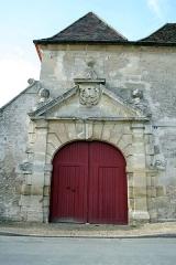 Ancien logis seigneurial -  Château (porte) à Brueil-en-Vexin - Yvelines (France)