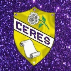 Château de Jambville - English: Ceres Womens Fraternity with a modified glitter backdrop