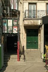 Théâtre du Gymnase - Français:   Entrée du théâtre du Gymnase (en travaux), et portu du 36 boulevard de Bonne-Nouvelle (Paris).