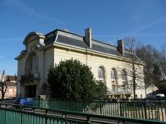 Théâtre municipal de Coulommiers -  Le théâtre de Coulommiers. Photo de So Leblanc. Libre de droit.