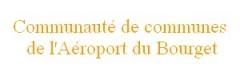 Aérogare du Bourget - Logo de la Communauté de communes de l'Aéroport du Bourget