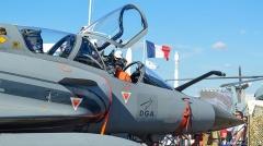 Aérogare du Bourget -  Mirage 2000