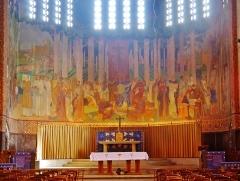 Eglise Saint-Louis de Vincennes - Deutsch: Chor der Kirche St. Louis, Vincennes, Département Val-de-Marne, Region Île-de-France, Frankreich