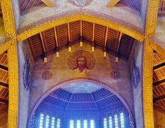 Eglise Saint-Louis de Vincennes - Deutsch: Chorfresko der Kirche St. Louis, Vincennes, Département Val-de-Marne, Region Île-de-France, Frankreich