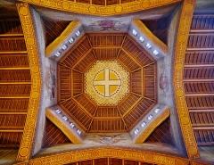Eglise Saint-Louis de Vincennes - Deutsch: Gewölbe der Kirche St. Louis, Vincennes, Département Val-de-Marne, Region Île-de-France, Frankreich