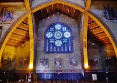 Eglise Saint-Louis de Vincennes - Deutsch: Innenraum der Kirche St. Louis, Vincennes, Département Val-de-Marne, Region Île-de-France, Frankreich