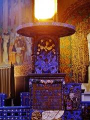 Eglise Saint-Louis de Vincennes - Deutsch: Kanzel der Kirche St. Louis, Vincennes, Département Val-de-Marne, Region Île-de-France, Frankreich