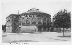 Théatre municipal -  Haguenau: le théâtre