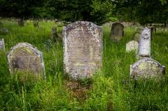 Cimetière juif -  Cimetière juif de Rosenwiller tombe de Cerf Beer