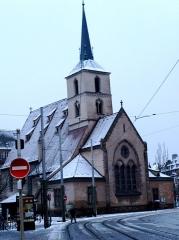 Eglise protestante Saint-Nicolas -  L'église Saint Nicolas, à Strasbourg