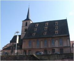Eglise protestante Saint-Nicolas - Deutsch: Kirche Saint-Nicolas in Straßburg
