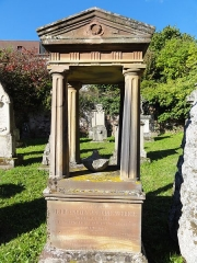 Ancien cimetière bourgeois - This object is indexed in the base Palissy, database of the French furniture patrimony of the French ministry of culture,under the referenceIM67013379.
