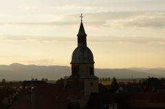 Eglise catholique Sainte-Agathe -  EGLISE DE NIEDERENTZEN