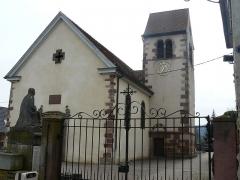 Eglise catholique Sainte-Odile - Français:   Église Sainte Odile de Wintzfelden