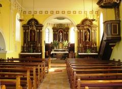 Eglise catholique Sainte-Odile - Français:   Le chœur de l\'église Sainte Odile de Wintzfelden