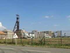 Mine Théodore -  Puits Théodore. Lieu d'extraction de potasse juqu'en 1986
