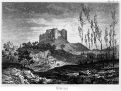 Château de Benauge - French historian, archaeologist and engraver