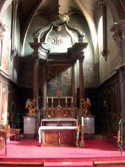 Eglise Sainte-Marie - Français:   Choeur de l\'église Notre-Dame de l\'Assomption, à Roquefort, dans le département français des Landes
