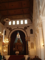 Synagogue -  Synagogue of Bayonne (France) - Inside.