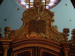 Synagogue -  Synagogue of Bayonne (France) - Detail of the Torah Ark
