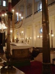 Synagogue -  Synagogue of Bayonne (France) The Bimah or Tebah