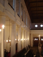 Synagogue -  Synagogue of Bayonne (France); the gallery for women