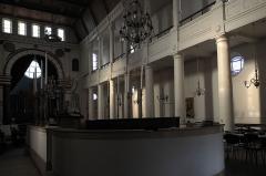 Synagogue - Deutsch: Synagoge in Bayonne im Département Pyrénées-Atlantiques (Region Aquitaine-Limousin-Poitou-Charentes/Frankreich), Innenraum