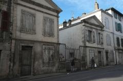 Synagogue - Deutsch: Synagoge in Bayonne im Département Pyrénées-Atlantiques (Region Aquitaine-Limousin-Poitou-Charentes/Frankreich), Nebengebäude