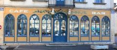 Café des Chiens Blancs -  Laignes, Côte-d'Or, Bourgogne, France