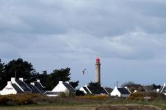 Grand phare de Belle-Ile, dit également phare de Goulphar -  Kervilahouen et son phare