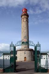 Grand phare de Belle-Ile, dit également phare de Goulphar -  Phare de Goulphar