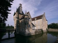 Château du Plaix - Deutsch: Schloss Plaix in der Gemeinde Saint-Hilaire-en-Lignières im französischen Département Cher