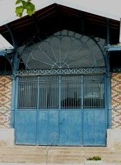 Marché couvert - Deutsch: Markthalle (Marché couvert) in Aix-en-Othe im Département Aube (Champagne-Ardenne/Frankreich)