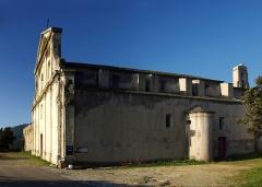 Couvent de l'Annonciation -  Morsiglia (Corsica) - Vue latérale du couvent de l'Annonciation et de son église