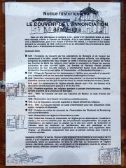 Couvent de l'Annonciation -  Morsiglia (Corsica) - Notice historique du couvent de l'Annonciation