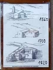 Couvent de l'Annonciation -  Morsiglia (Corsica) - Reconstitution historique du couvent de l'Annonciation