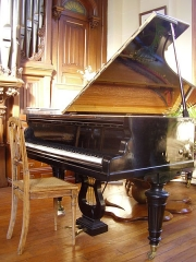 Maison de Marcel Dupré - English: Erard piano which belonged to Paderewski. Now in the house of Marcel Dupré in Meudon