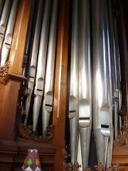 Maison de Marcel Dupré - English: Pipes from the organ of Marcel Dupré (Meudon, France)