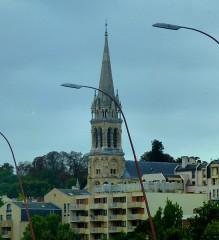 Eglise du Centre ou Saint-Clodoald -  Paris -  Eglise Saint-Clodoald