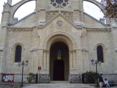 Eglise du Centre ou Saint-Clodoald -  Photos prises à Saint-Cloud, commune des Hauts-de-Seine en France