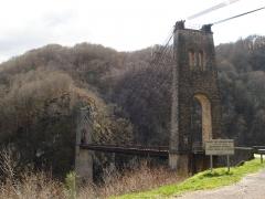 Viaduc des Rochers Noirs (également sur commune de Soursac) - Le viaduc des Rochers Noirs coté Lapleau en Corrèze
