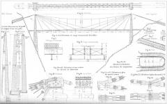 Viaduc des Rochers Noirs (également sur commune de Soursac) - Plan du viaduc des Rochers noirs